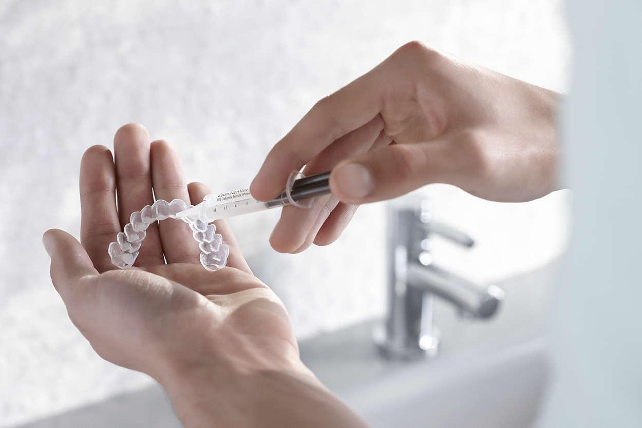 behandlingsprodukter til tannbleking hjemme
